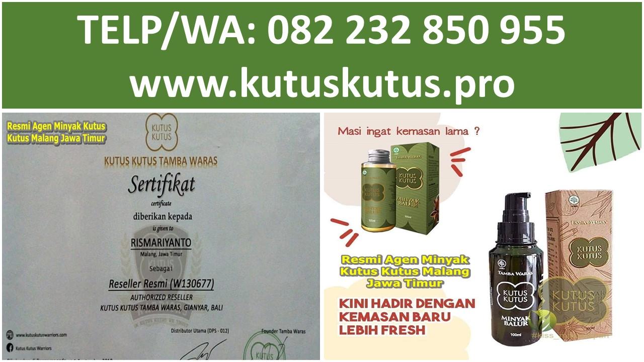 Resmi Agen Minyak Kutus Kutus Malang Jawa Timur