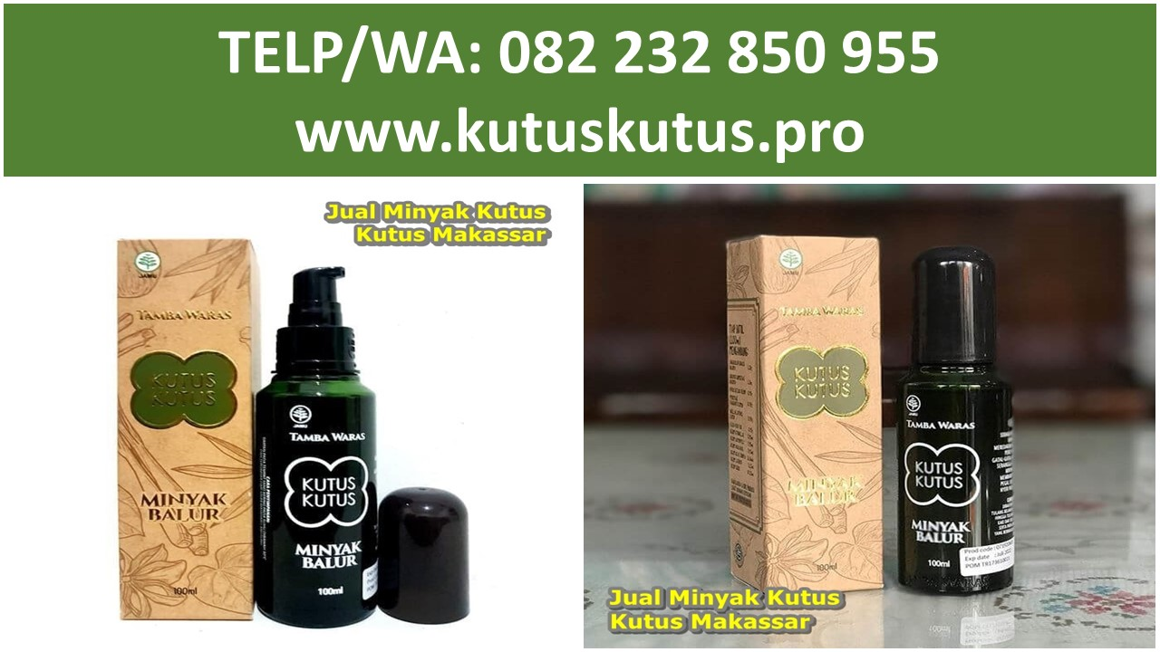 Jual Minyak Kutus Kutus Makassar